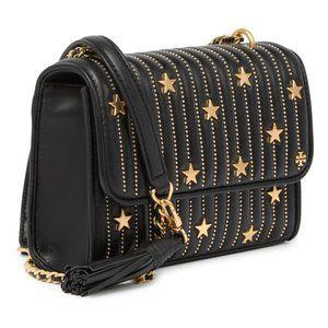 Tory Burch Fleming Small Convertible Star-Stud Bag